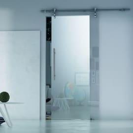 Porta da interno scorrevole Lux Nuetro 86 x H 215 cm sx