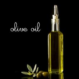 Quadro in vetro Olio d'oliva 30x30