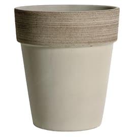 Vaso Alto Vulcano ø 35 cm grigio