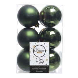Box sfere verdi ø 6 cm