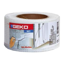 Nastro adesivo per crepe Geko bianco 20 m x 48 mm