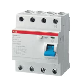Interruttore differenziale puro ABB ELF204-63003A 3P+N 63 A