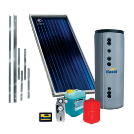 Impianto solare termico a circolazione forzata Costruzioni Solari Itasol 150