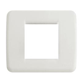 Placca 2 moduli Vimar 17098.D.04 IDEA BIANCO IDEA