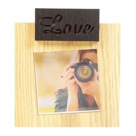 Cornice portafoto Industry rovere 10 x 10 cm
