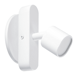 Faretto completo Flut bianco, in ferro, LED integrato 5W 220LM IP20 INSPIRE