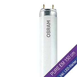 Tubo LED auto-alimentato LED024397BOX1 1800 LM bianco tenue L 150 cm