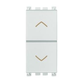 Pulsante doppio VIMAR Arké 10 A bianco