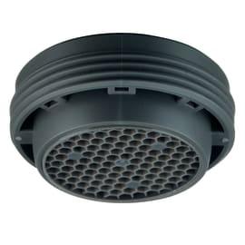 Aeratore EQUATION per rubinetto per lavabo e rubinetto per bidet grigio