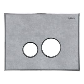Placca di comando per wc sospeso 10001255 beton