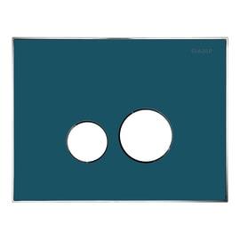 Placca di comando per wc sospeso 10001289 blu
