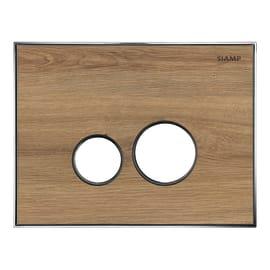 Placca di comando per wc sospeso 10001256 legno