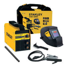 Saldatrice inverter STANLEY mma 200 A 6000 W