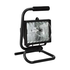 Proiettore Brenta in alluminio nero R7S MAX500W IP44 INSPIRE