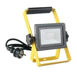 Proiettore LED integrato Yonkers in alluminio, antracite, 10W 950LM IP65 INSPIRE