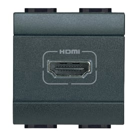 Connettore hdmi BTICINO Living light antracite