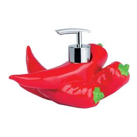 Dispenser sapone rosso