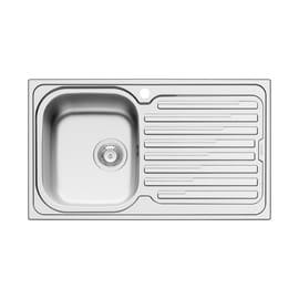 Lavello da incasso Amaltia 86 x 50 cm 1 vasca con gocciolatoio