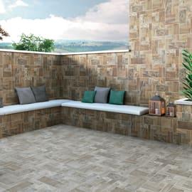 Pavimenti in gres porcellanato effetto pietra per esterni for Mattonelle da muro