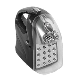 Lampada d'emergenza Anti black-out ricaricabile 16+3 LEDs 42 LM