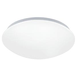 Plafoniera Giron-C bianco, in policarbonato, diam. 30, LED integrato 17WW 2100LM IP20 EGLO