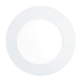 Faretto fisso da incasso tondo Fueva-C in metallo, bianco, diam. 12 cm LED integrato 5,4W 700LM IP20 EGLO