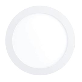 Faretto fisso da incasso tondo Fueva-C in metallo, bianco, diam. 17 cm 3x12cm LED integrato 10,5W 1200LM IP20 EGLO