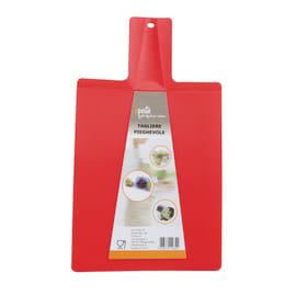 Tagliere rosso L 21 x H 38 cm