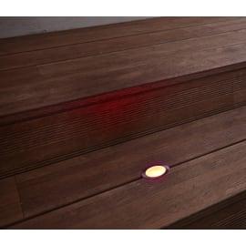 Faretto da incasso da esterno tondo Thaisa LED integrato 6 x 5 cm  diam. 5 cm 1,5W 30LM 1 x IP67