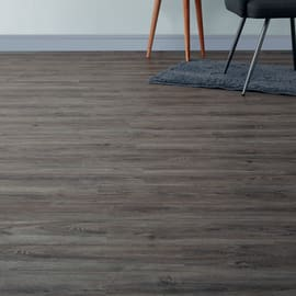 Pavimento pvc flottante clic+ Grey ceruse Sp 5 mm marrone