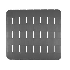 Pedana per doccia Frost in plastica grigio 55 x 55 cm