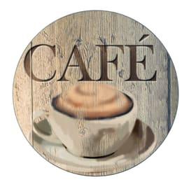 Lastra di protezione per piano di lavoro WENKO Caffè 20.2 x 0.8 x 20.2 cm fantasia