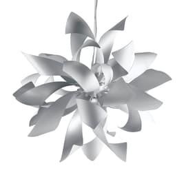 Lampadario Bloom bianco, in metallo, diam. 65 cm, G9 6xMAX28W IP20