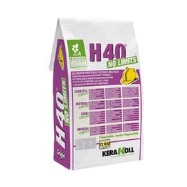 Colla in polvere H40 No Limits KERAKOLL 5 kg grigio