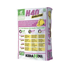 Colla in polvere H40 Revolution KERAKOLL 25 kg bianco