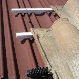 Profilo di chiusura 50 pezzi Listello aerato parapasseri x 100 cm x Ø 100 cm