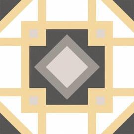 Piastrella Art Deco H 20 x L 20 cm PEI 3/5 multicolore