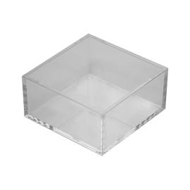 Organizer bagno Cie richL 9.5 x H 5 cm Ø 9.5 cm trasparente