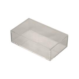 Organizer bagno Cie richL 9.5 x H 5 cm Ø 5 cm trasparente