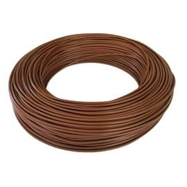 Cavo elettrico BALDASSARI CAVI 1 filo x 6 mm² Matassa 100 m marrone