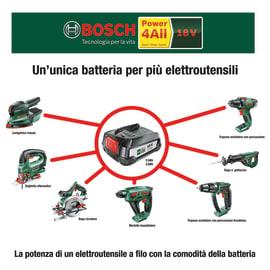 Batteria BOSCH PBA W-B in litio (li-ion) 18.0 V 2.5 Ah