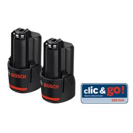 Batteria BOSCH PROFESSIONAL Twin Pack 12V in litio (li-ion) 12 V 2.5 Ah