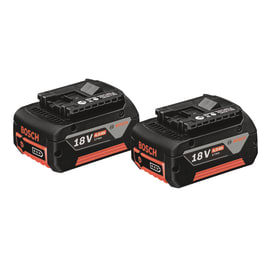 Batteria BOSCH PROFESSIONAL Twinpack in litio (li-ion) 18 V 4 Ah