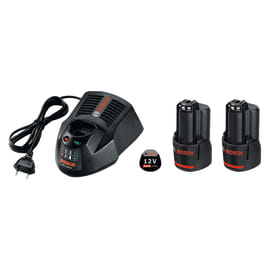 Batteria BOSCH Starter-Set in litio (li-ion) 12 V 2 Ah