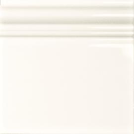 Decoro Skirting bianco L 15 x H 15 cm