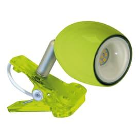 Lampada da scrivania Kikiled verde, in acciaio, LED integrato 2W