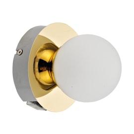 Applique Kapi oro, in metallo, LED integrato 5W 480LM IP44 INSPIRE