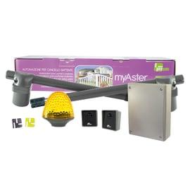 Motore per cancello doppia anta battente Kit MyAster 4 230V  230 V