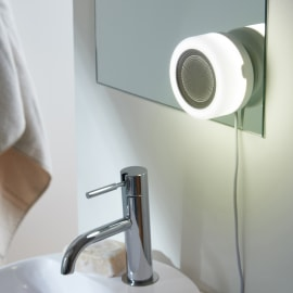 Applique Tentacolo bianco, in plastica, LED incassato 10W IP67: protetto dagli effetti dell'immersione INSPIRE