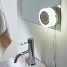 Applique Tentacolo bianco, in plastica, LED integrato 10W 470LM IP67: protetto dagli effetti dell'immersione INSPIRE